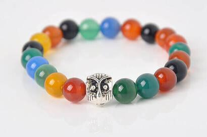 İhvan - Mixed Flowstone Bracelet
