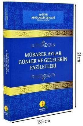 Medine Yayınları - Mübarek Aylar Günler ve Gecelerin Faziletleri-1736