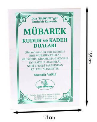 ESMA YAYINEVİ - Mübarek Kudur ve Kadeh Duaları-1360
