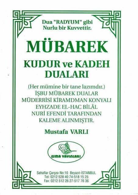 Mübarek Kudur ve Kadeh Duaları-1360