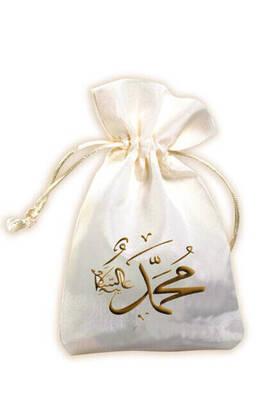 İhvan - Muhammed Lafız Düz Baskılı Keseli 99'lu Tesbih-3156