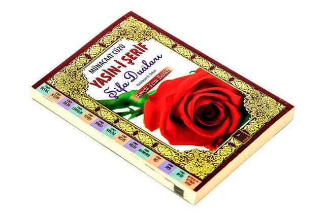 Munacaat Cüzü Yasini Sharif Healing Prayers Bag Size Paperback - 1235