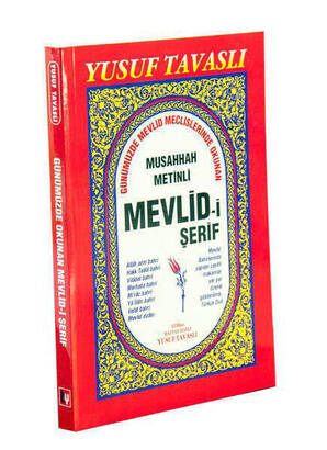 TAVASLI YAYINEVİ - Musahhah Metinli Mevlid-i Şerif-1870