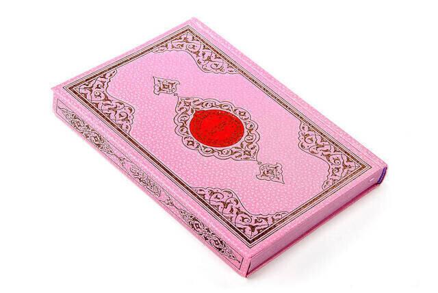My Koran - Plain Arabic - Hafiz Boy - Pink Cover - Sealed - Computer-Lined