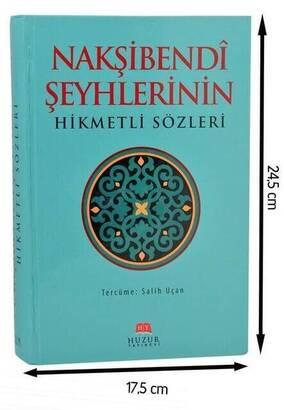 Huzur Yayınevi - Nakşibendi Şeyhlerinin Hikmetli Sözleri-1533