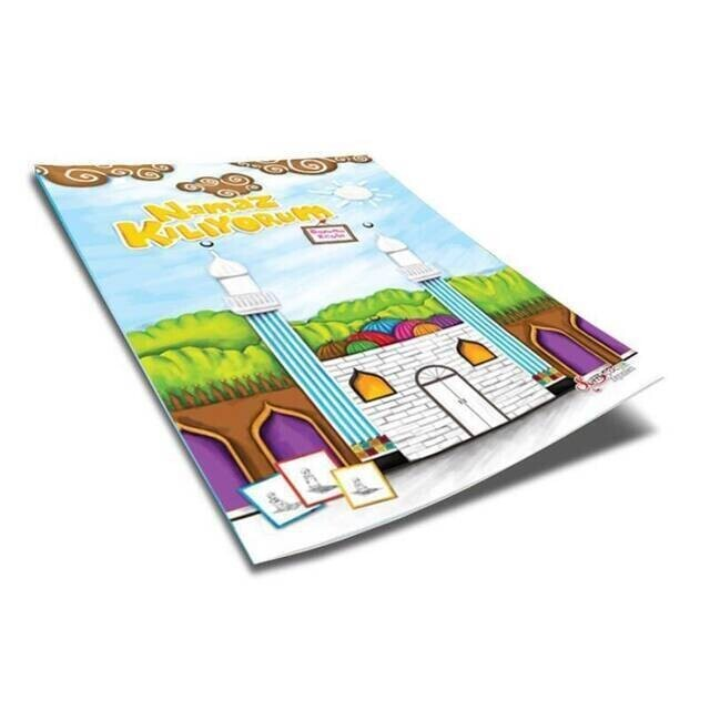 Namaz Kılıyorum (Boyama Kitabı) Dini Eğitici Kitap -1183