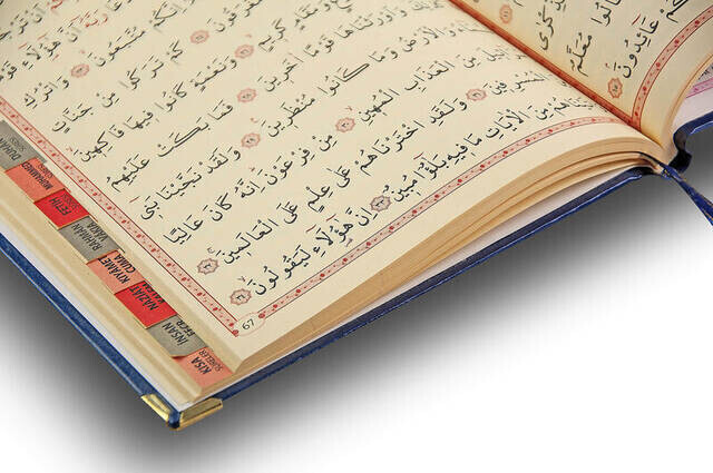 Name Printed Hardlied Yasin Book - Medium Size - 176 Pages - Navy Color - Religious Gift
