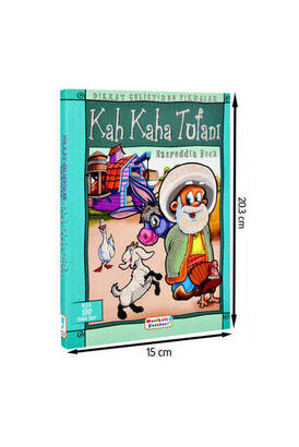 Mavi Lale Çocuksu - Nasreddin Hodja and the Deluge of Laughter Children Educational Book 1160
