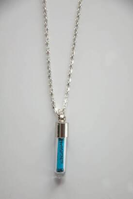 İhvan - Necklace with Ayetel Kürsi Written - Blue