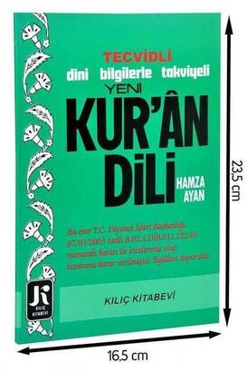 Kılıç Kitapevi - New Quran Language Reinforced with New Information-1668