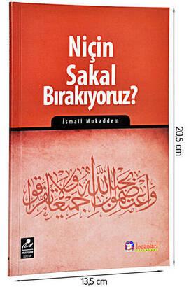Mercan Kitap - Niçin Sakal Bırakıyoruz - İsmail Mukaddem-1483