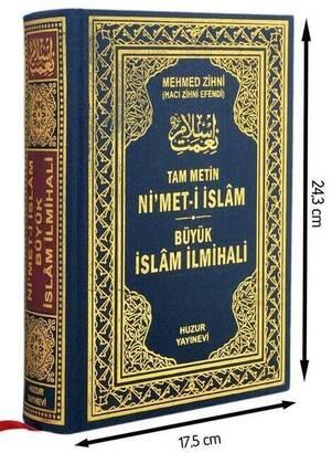Huzur Yayınevi - Nimet-i İslam Büyük İslam İlmihali - Huzur Yayınevi-1445