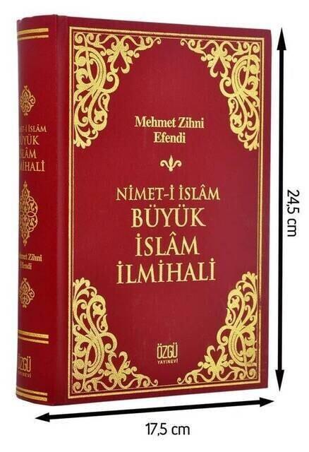 Nimet-i İslam Büyük İslam İlmihali - Özgü Yayınevi-1452