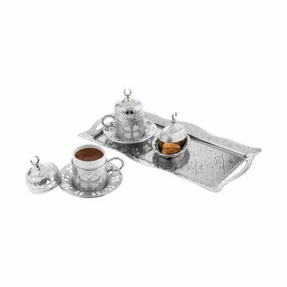 İhvan - Oryant Clover Set of 2 Coffee Cups 125-S-K-11