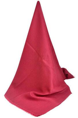 İhvan - Pamuklu Pano Düz Desensiz Kırmızı Renkli Örtü
