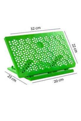 İhvan - Plastik Rahle - Pratik Rahle - Masa Üstü Rahlesi - Kitap Okuma Standı - Yeşil Renk