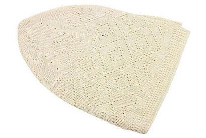 İhvan - Prayer Cap (12 Pieces) Cream - 8111