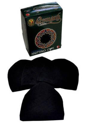 İhvan - Prayer Cap Lace Black (Dozen)