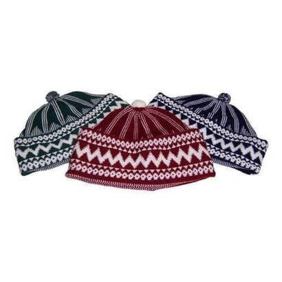İhvan - Prayer Cap Wool (Dozen) -8119
