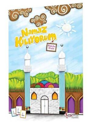 Hayrat Neşriyat - Praying (Coloring Book) Religious Educational Book -1183