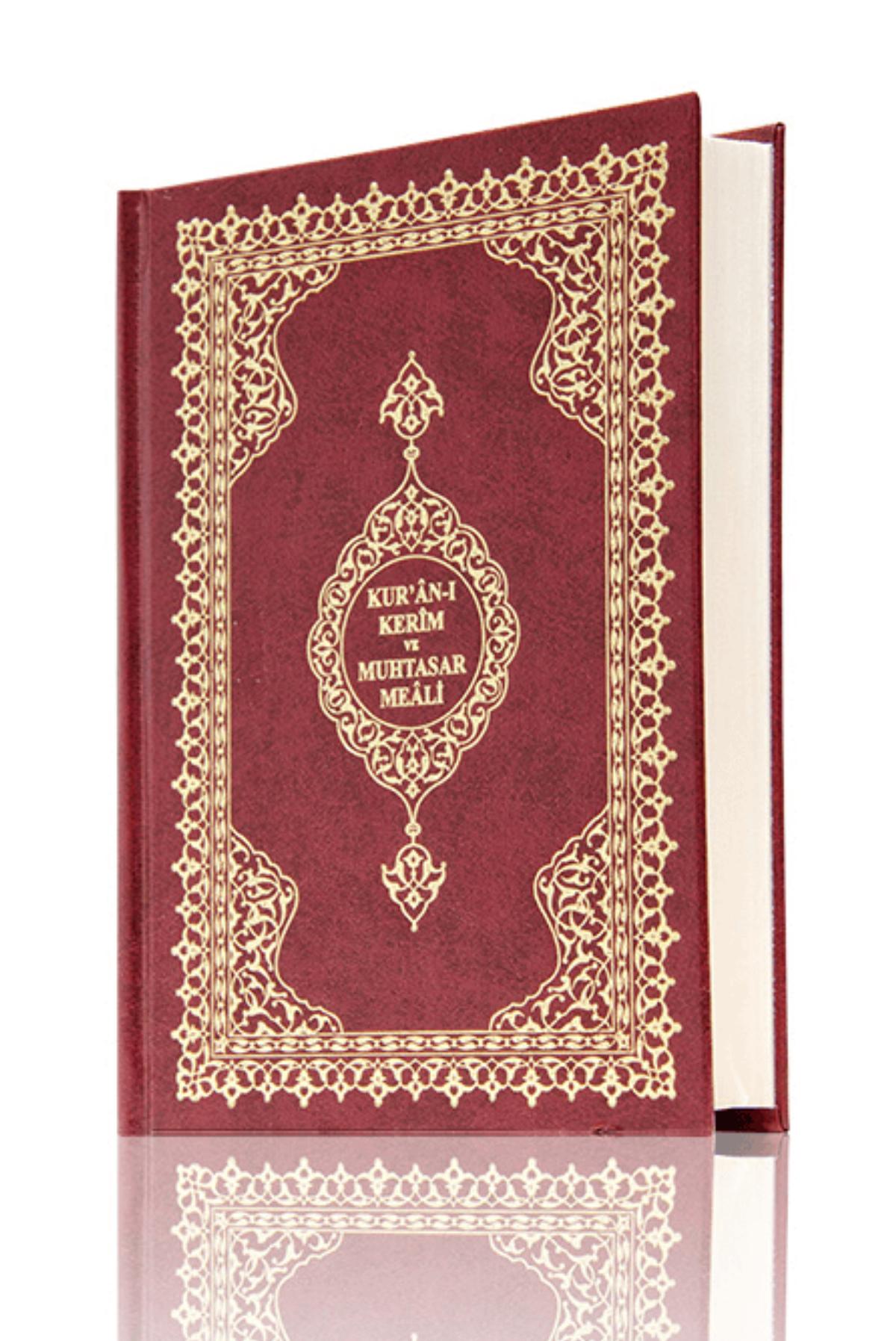 Quran Karim - Arabic and Meal - Mealli Koran Karim - Computer Lined - Medium Size - Sealed - Hayrat Nesriyat
