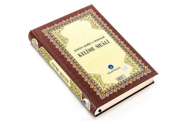 Quran Karim and Muhtasar Word Meali - Rahle Boy - Hayrat Nesriyat