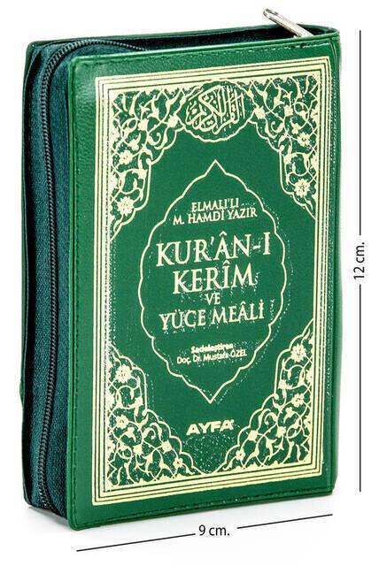 Quran Karim and Yucel Meali - Arabic and Meal - Cep Boy - Ayfa Publishing House