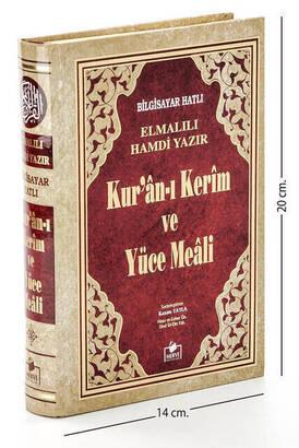 Merve Yayınları - Quran Karim and Yucel Meali - Arabic and Meal - Hafiz Boy