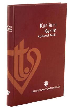 Türkiye Diyanet Vakfı Yayınları - Quran Kerim Explained Meali - Metinsiz Meal - Turkish Mealli Quran Kerim - Medium Size