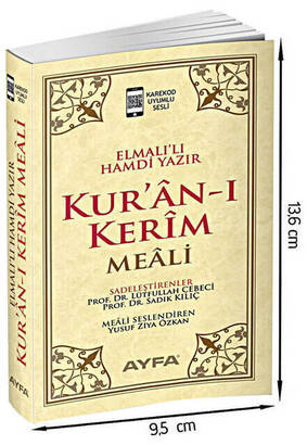 Ayfa Yayınevi - Quran Kerim Meali - Meal Without Text - Pocket Size