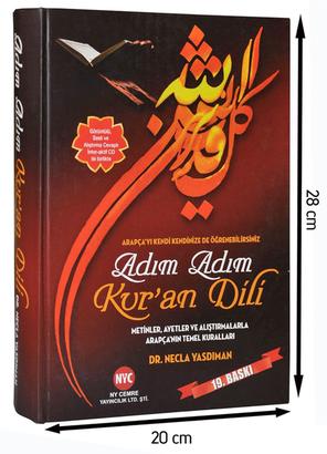 Necla Yasdıman Cemre Eğitim Kurumları - Quran Language Step by Step - Dr. Necla YasDaman - 1638