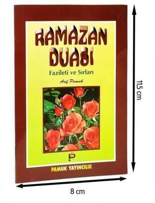 Pamuk Yayınevi - Ramazan Duası Fazileti ve Sırları-Cep boy-1244