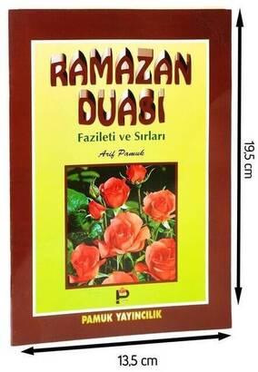 PAMUK YAYINEVİ - Ramazan Duası Fazileti ve Sırları-Orta boy-1305