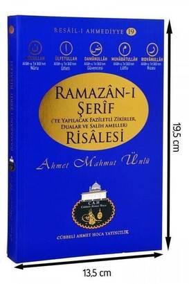 Cübbeli Ahmet Hoca Yayıncılık - Ramazan-ı Şerif Risalesi