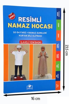 Merve Yayınları - Renkli Resimli Namaz Hocası-1654