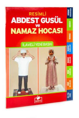 Merve Yayınları - Resimli Abdest - Gusül ve Namaz Hocası