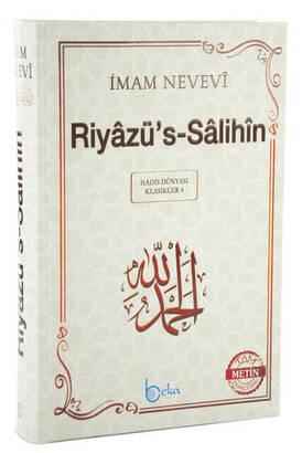 Beka Yayıncılık - Riyazüs-Salihin - İmam Nevevi - (Arapça-Türkçe)