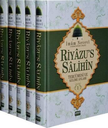 YASİN YAYINEVİ - Riyazus Salihin Tercümesi ve Kelime Anlamı (5 Cilt) -1495