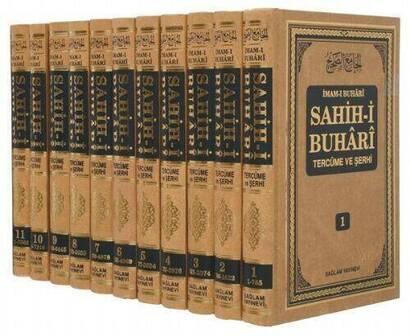Sağlam Yayınevi - Sahih-i Buhari Tercüme Ve Şerhi - 11 Cilt Takım, 7563 Hadis-1500