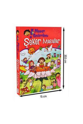 Mavi Lale Çocuksu - Şeker Masallar Çocuk Eğitici Kitap -1154