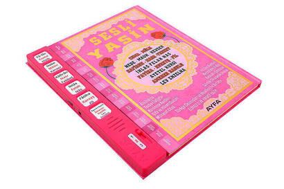 Sesli Yasini Şerif - Rahle Boy - 224 Sayfa - Pembe Renkli - Ayfa Yayınevi
