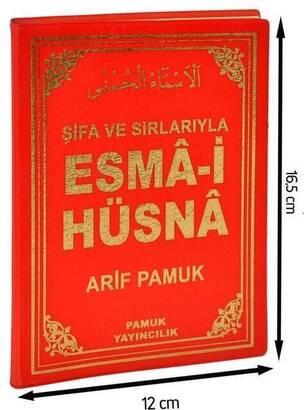 PAMUK YAYINEVİ - Şifa ve Sırlarıyla Esma-i Hüsna - Plastik Kapak-1351