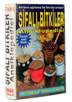 Pamuk Yayınevi - Şifalı Bitkiler Ansiklopedisi - Arif Pamuk-1579