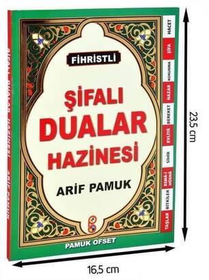 Pamuk Yayınevi - Şifalı Dualar Hazinesi - Fihristli -1297