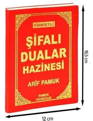 PAMUK YAYINEVİ - Şifalı Dualar Hazinesi - Fihristli-1352
