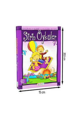 Mavi Lale Çocuksu - Şirin Öyküler Mavi Lale Yayınları Çocuk Eğitici Kitap -1150
