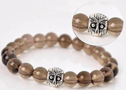İhvan - Smoky Quartz Stone Bracelet