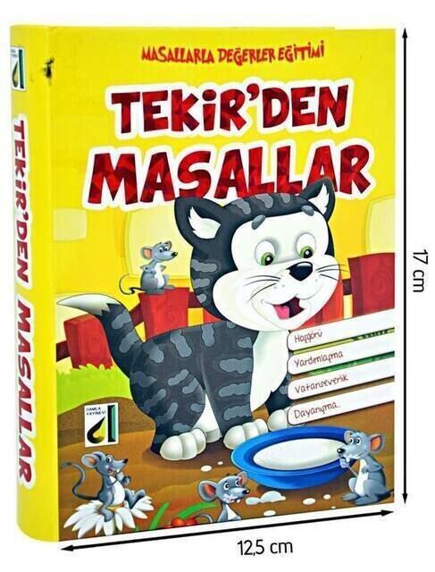 Tabby Tales - Damla Yayınları-1171