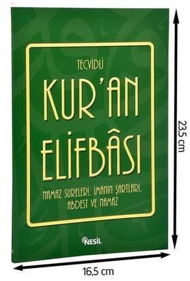 Nesil Yayınevi - Tajwid Quran Elifbas-1667
