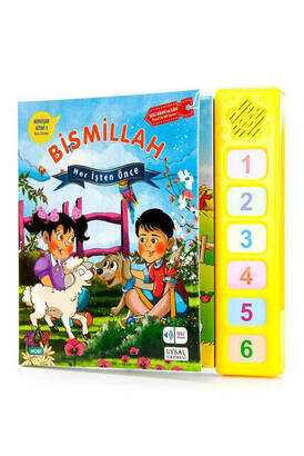UYSAL YAYINEVİ - Talking Book - Bismillah Before Every Work Children's Religious Education Set